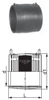 Муфта электросварная