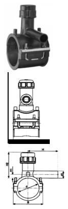 Седелка электросварная (седелочный отвод)